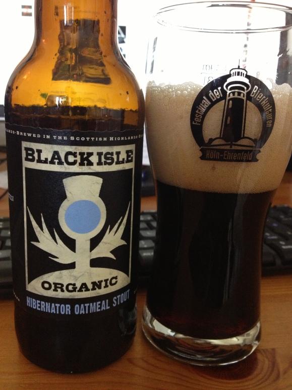 Black Isle Brewery Organic Hibernator Oatmeal Stout